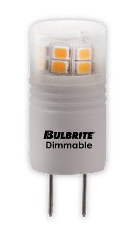 3W G8 LED Light Bulb (Set of 2) by Bulbrite Industries