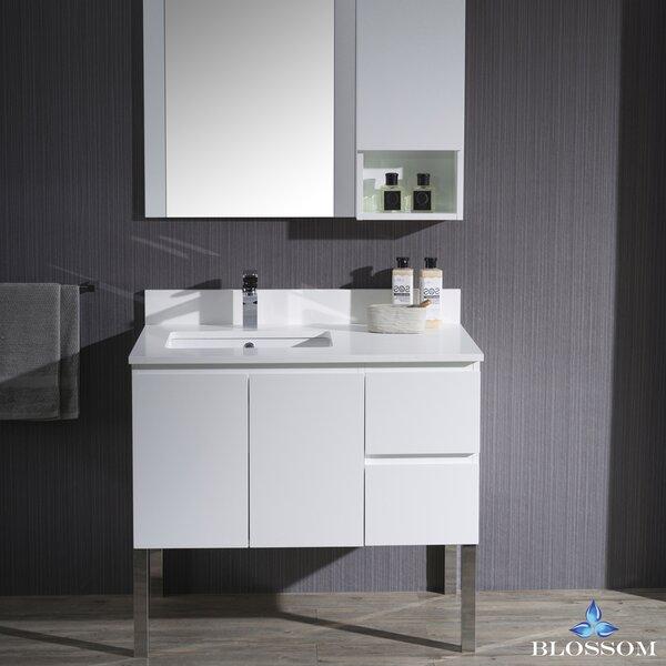 Maly 36 Single Bathroom Vanity Set with Mirror by Orren Ellis