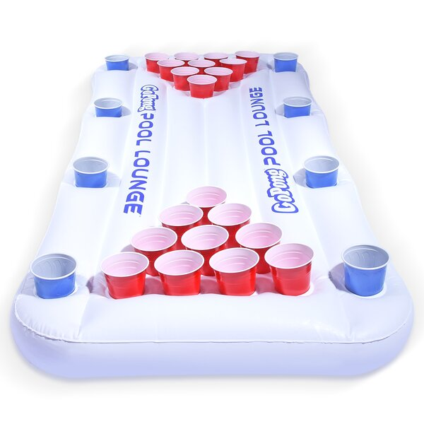 Pool Lounge Floating Pong Table With Social Floating By Gopong.