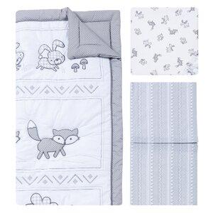Aztec Forest 3 Piece Crib Bedding Set