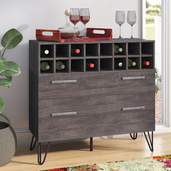 Aguirre Mid Century Bar Cabinet by Langley Street