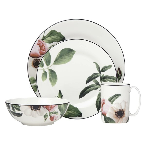 Bloom Street 4 Piece Place Setting by kate spade new york