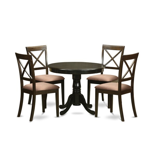 New Design 5 Piece Dining Set By East West Furniture Sale