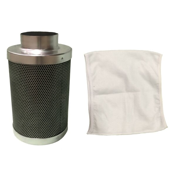 Carbon Inline Fan and Odor Control Air Filter by Crucial