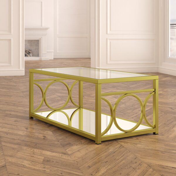 Vanda Coffee Table by Everly Quinn