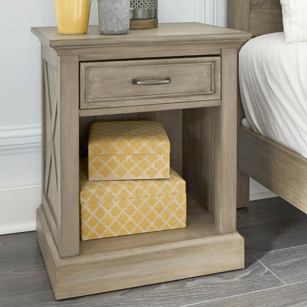 Darin Lodge 1 Drawer Nightstand by Gracie Oaks