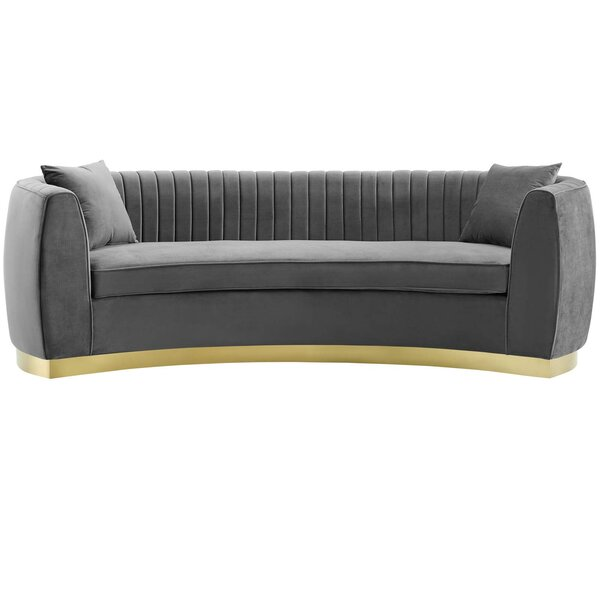 Modern Brand Dement Sofa by Mercer41 by Mercer41