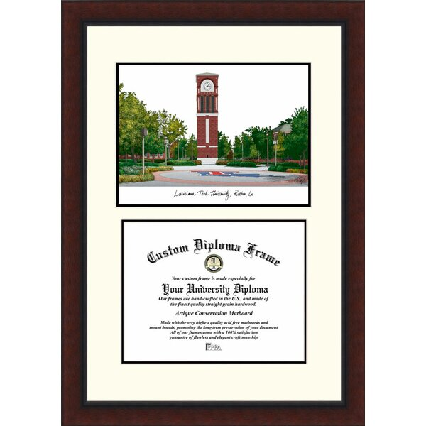 NCAA Louisiana Tech University Legacy Scholar Diploma Picture Frame by Campus Images