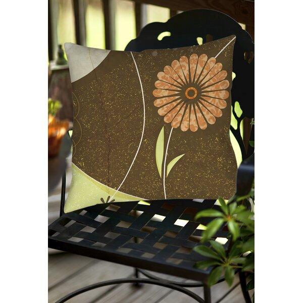Graphic Garden Suri Indoor/Outdoor Throw Pillow by Manual Woodworkers & Weavers
