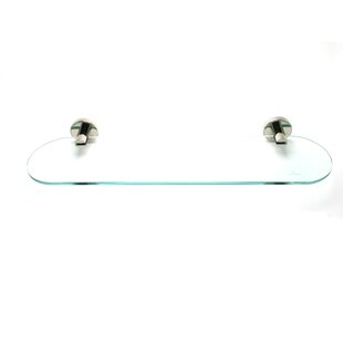 Effortless Elegance Glass Shelf by R. Christensen