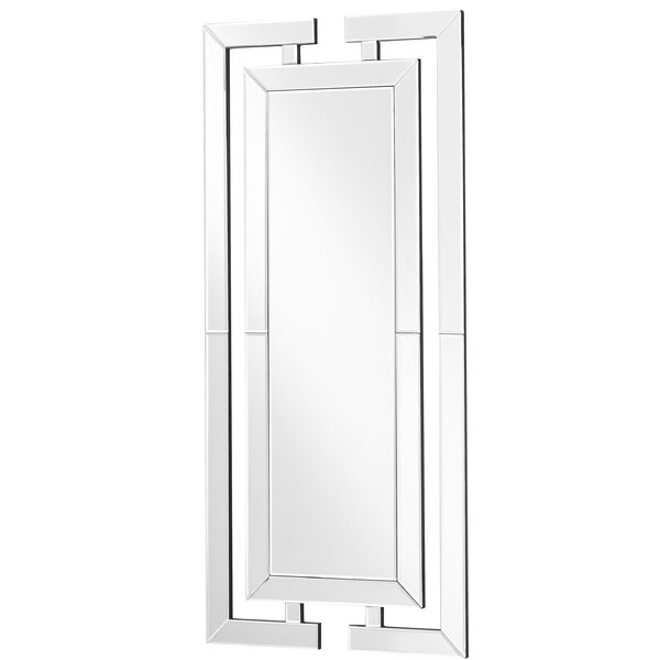 Wheless Contemporary Rectangle Accent Mirror by Latitude Run