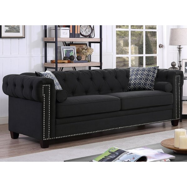 Quan Chesterfield Sofa by Canora Grey