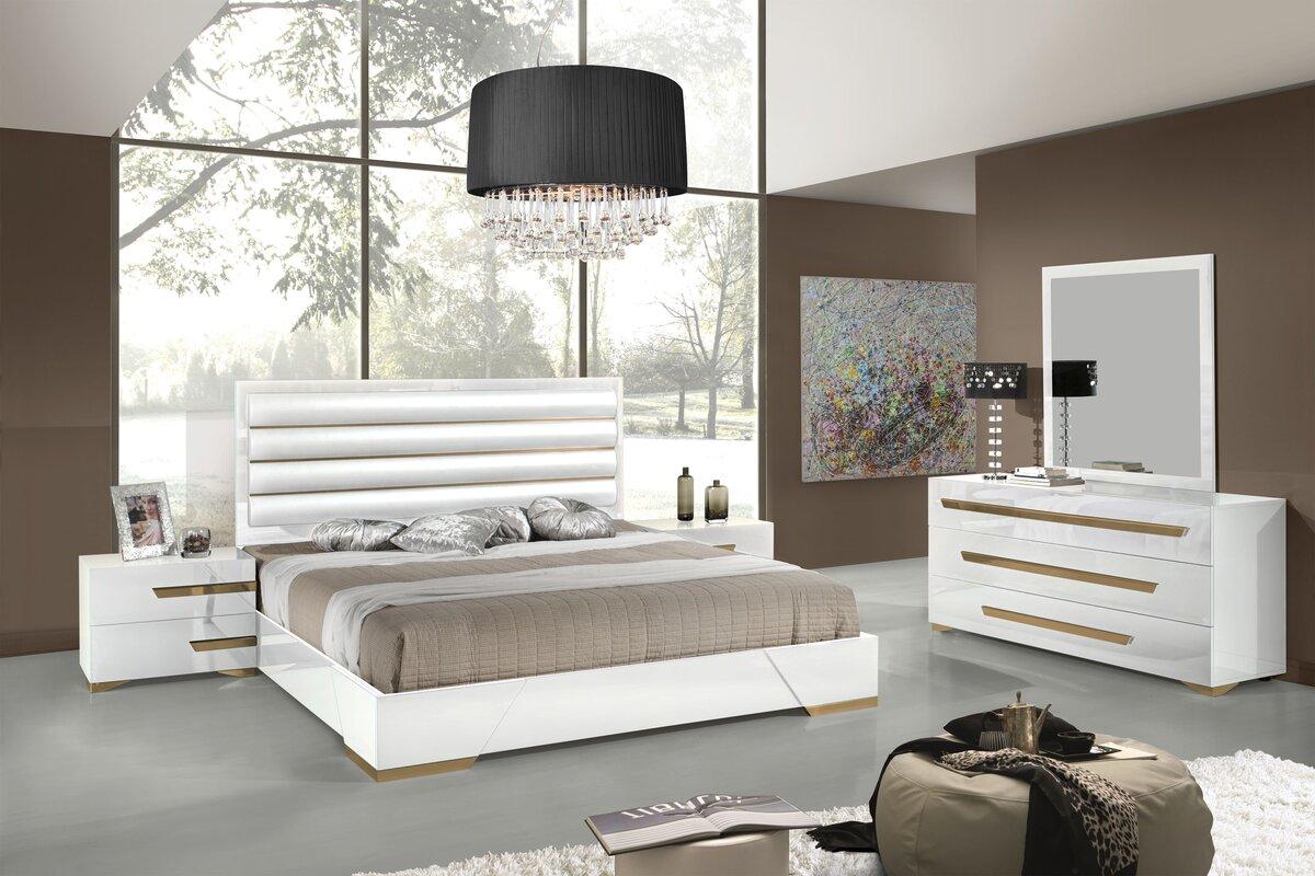 Eloisa Platform 5 Piece Bedroom Set