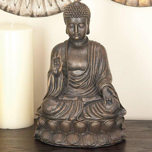 Polystone Buddha Figurine by Cole & Grey