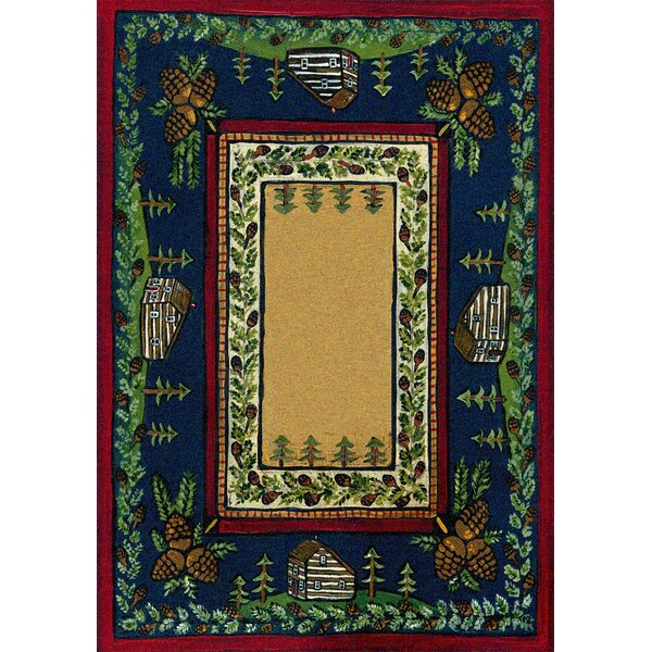 Specialty Cabin in the Pines Clearing Area Rug by American Dakota