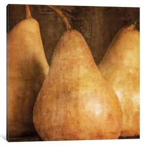 'Pears' Graphic Art Print on Canvas by East Urban Home