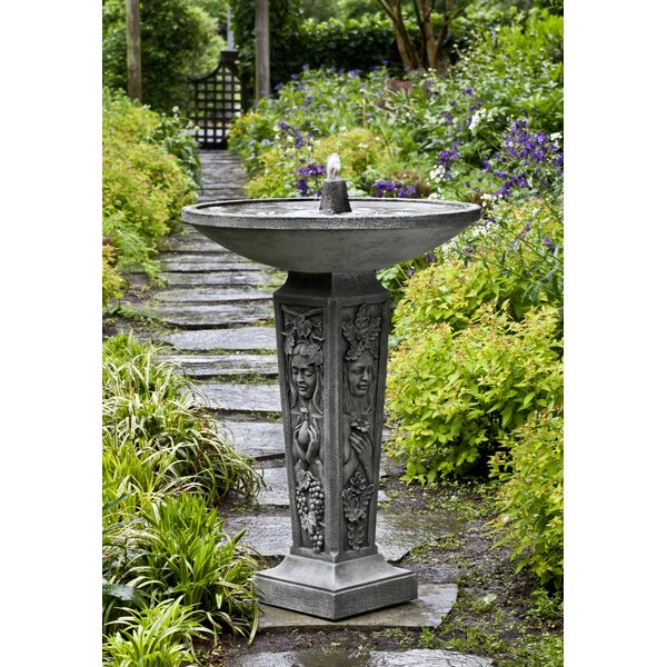 Concrete Seasons Fountain by Campania International