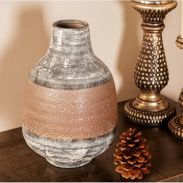 Heilig Eclectic Stoneware Table Vase by World Menagerie