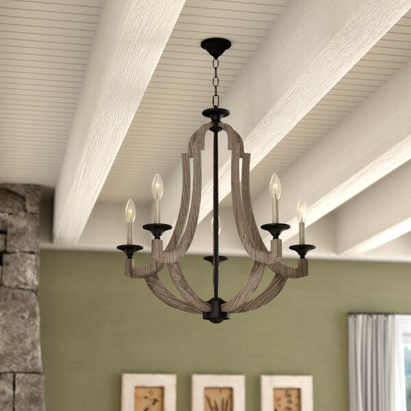 Marcoux 5-Light Empire Chandelier by Laurel Foundry Modern Farmhouse