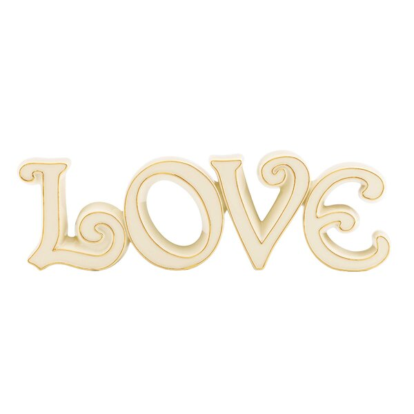 Expressions Love Letter Block by Lenox