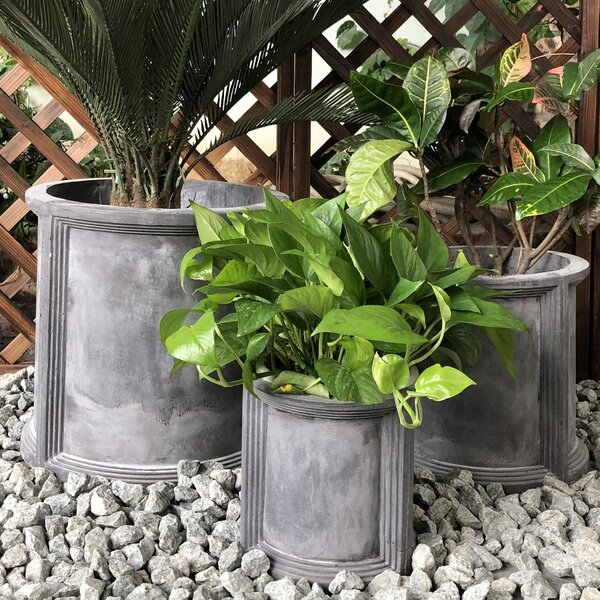 Gale 3-Piece Pot Planter Set by Williston Forge