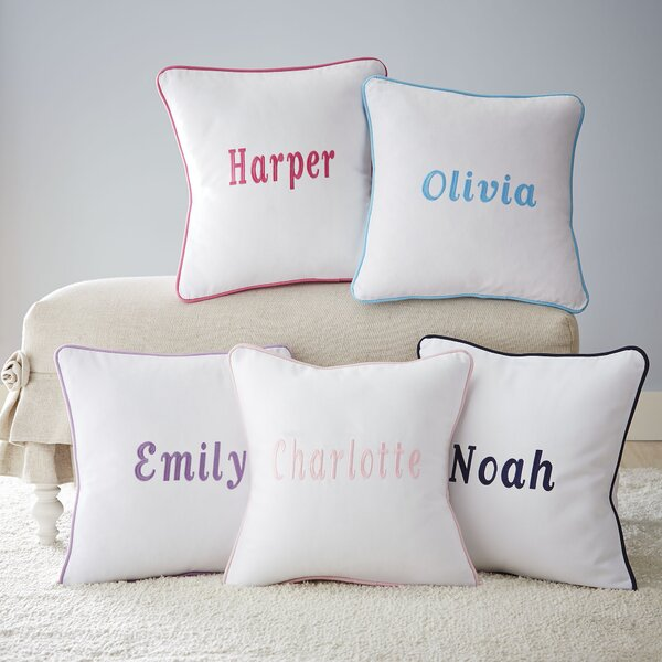 Corded Monogrammed Pillow Cover by Birch Lane Kids™
