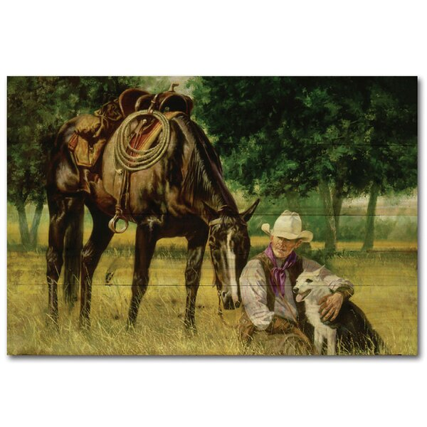 All I Need by Brent Flory Painting Print Plaque by WGI-GALLERY