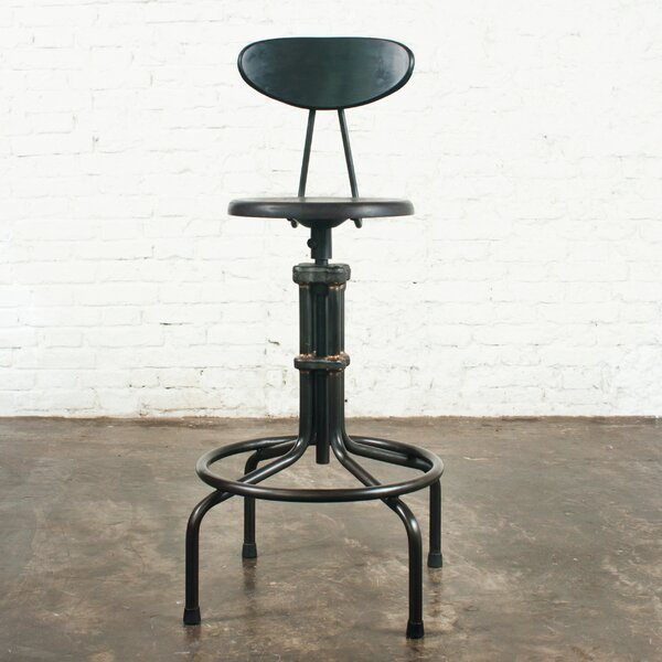 V19C Adjustable Height Bar Stool by District Eight Design District Eight Design