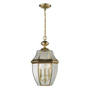 Savings Ashford Large 3-Light Outdoor Hanging Lantern By Cornerstone Lighting