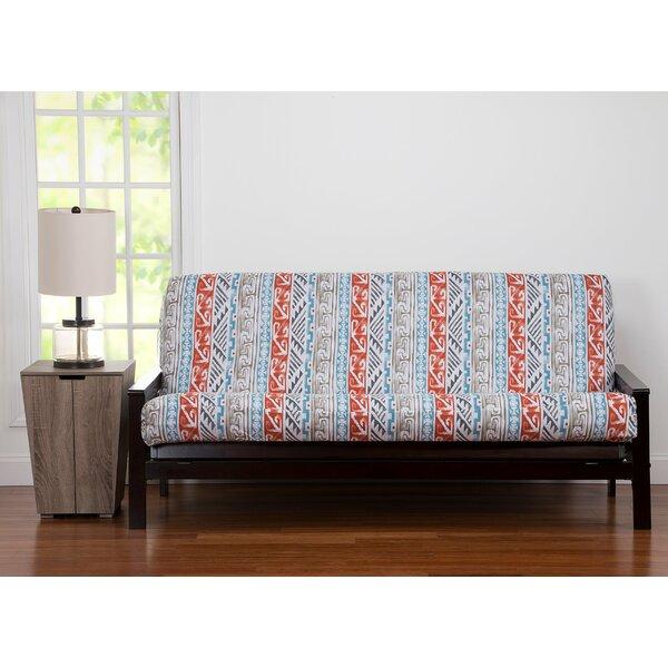 Box Cushion Futon Slipcover By World Menagerie