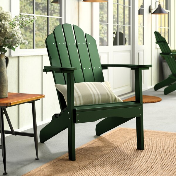 Sawyerville Plastic Adirondack Chair by Laurel Foundry Modern Farmhouse Laurel Foundry Modern Farmhouse