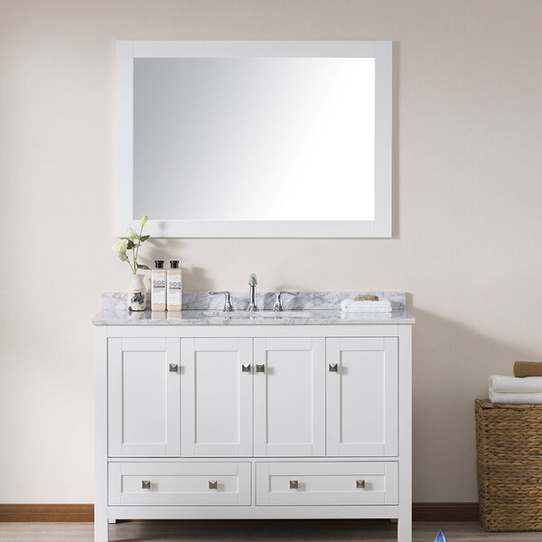 Brier 49 Single Bathroom Vanity Set with Mirror by Wrought Studio