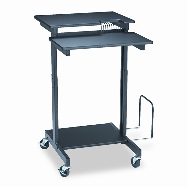 BALT® Web A/V Stand-Up Workstation AV Cart by Balt