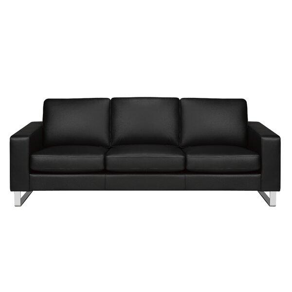 Keown Genuine Leather Sofa by Orren Ellis