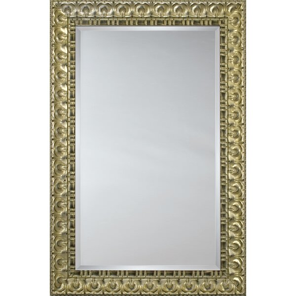 Mirror Style 6602 - Silver with Black Accent Transitional by Mirror Image Home
