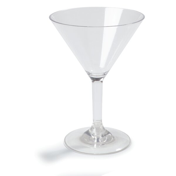 Liberty™ Polycarbonate Martini Glass (Set of 24) by Carlisle Food Service Products