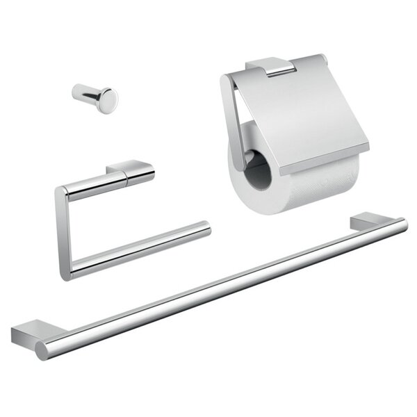 Canarie 4 Piece Bathroom Hardware Set by Gedy by Nameeks