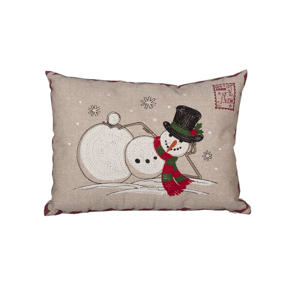 Douglassville Christmas Lumber Pillow by Red Barrel Studio
