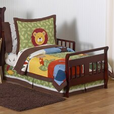 Jungle Time 5 Piece Toddler Bedding Set by Sweet Jojo Designs