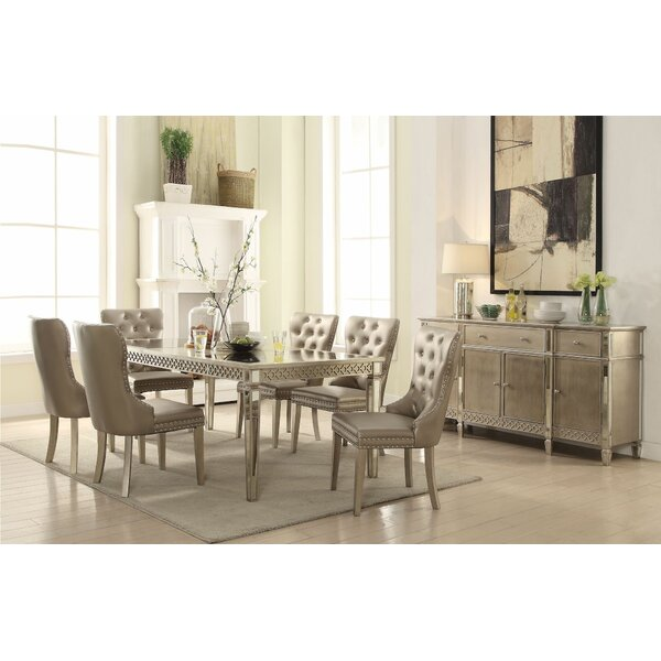Paulette 7 Pieces Extendable Dining Set by House of Hampton