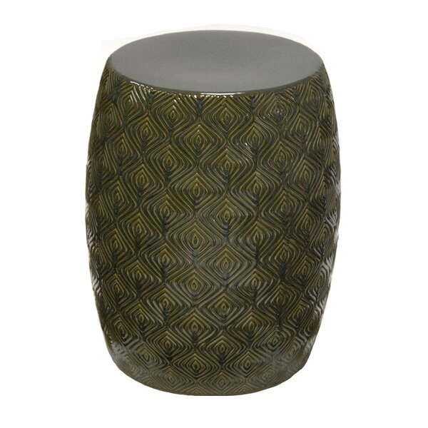 Leonard Garden Stool by World Menagerie