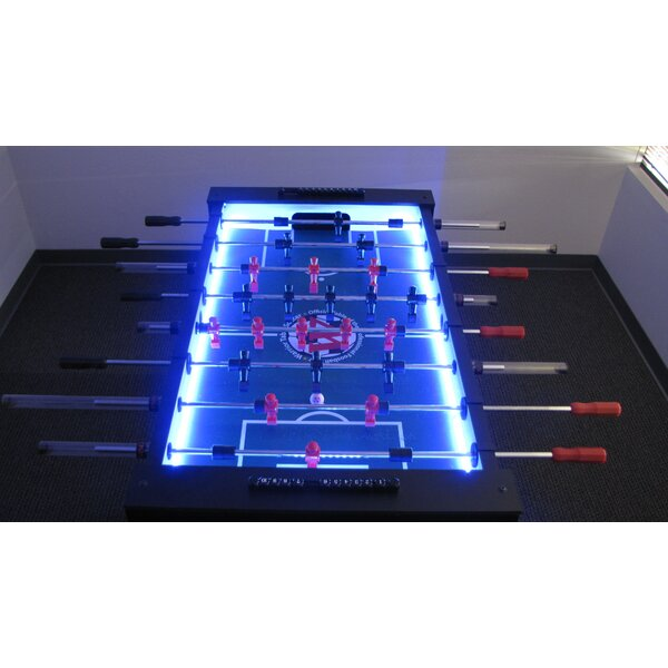 Force 4 Led Foosball Table by Warrior Table Soccer