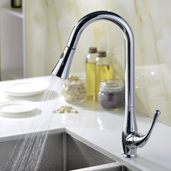 Singer Pull Down Bar Faucet By Anzzi.