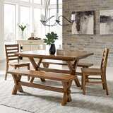 Milford 5 Piece Dining Set by Canora Grey