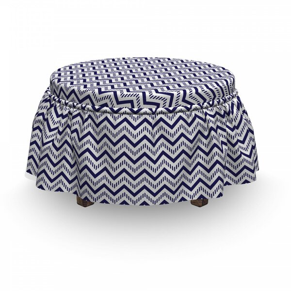 Great Deals Box Cushion Ottoman Slipcover