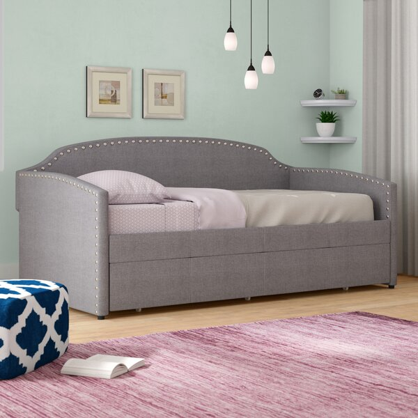 Alcantar Twin Daybed with Trundle by Latitude Run Latitude Run