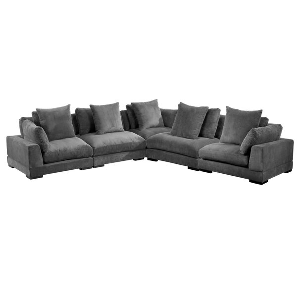 Lytle Classic Symmetrical Modular Sectional By Red Barrel Studio