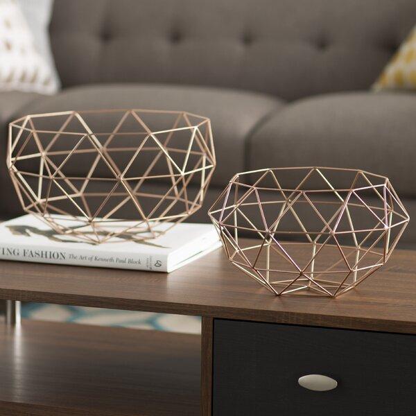 2 Piece Basket Set by Langley Street