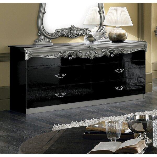 Alexzander 4 Drawer Double Dresser by Astoria Grand