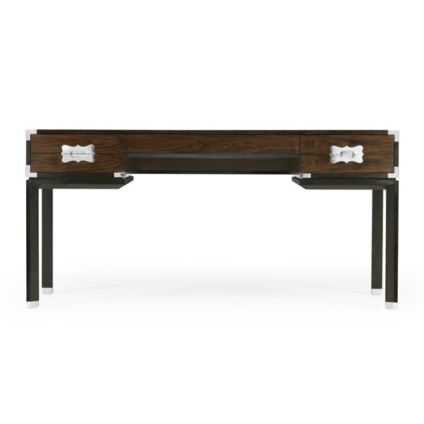 Campaign Solid Wood Desk